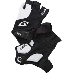 Giro Strade Dure Supergel Guantes, white/black